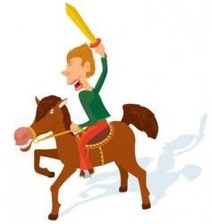 Cavalry games vector