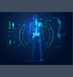 chiropractic vector image
