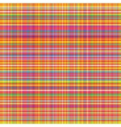 colorful squared abstract texture fabric vector image
