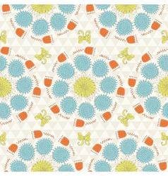 sunshine pattern vector image