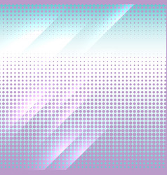 vertical gradient halftone color dots background vector image