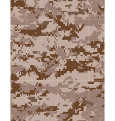 military desert camouflage tileable vector image