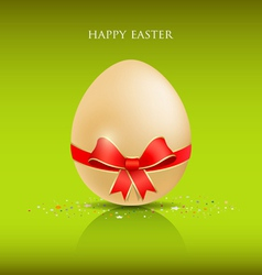 happy easter egg vector image