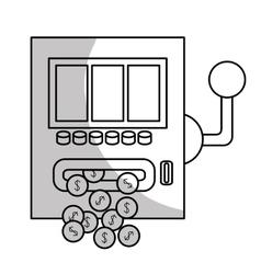gambling games design vector image