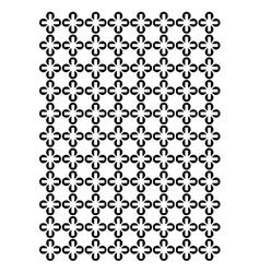Cross block pattern vector