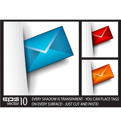Email tags vector