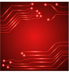 Hi tech circuit board vector