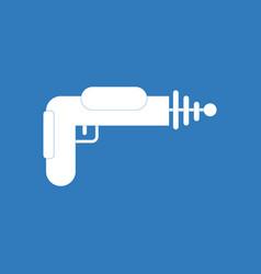 Icon toy gun vector