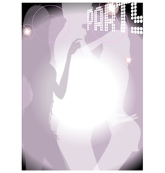 Party Dance Background vector