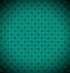 Playing poker blackjack cards symbol background vector