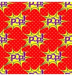 Pop Art explosion vector image