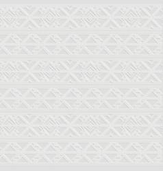 retro white border pattern vector image