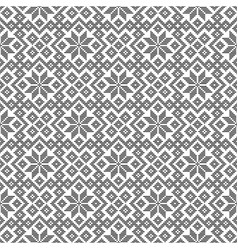 Seamless pattern based on japanese ornament vector