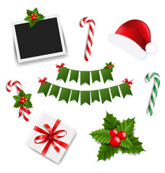 xmas collection vector image