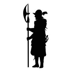 Guard Warriors Theme vector image