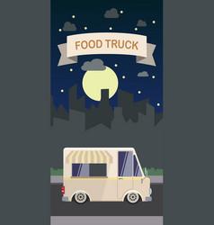 flat design style modern food vector image vector image