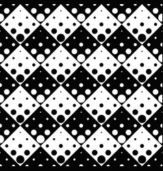 abstract geometrical black and white circle vector image