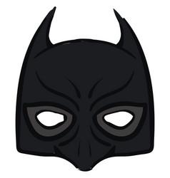 Batman mask on white background vector