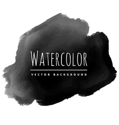 Black ink splash vector