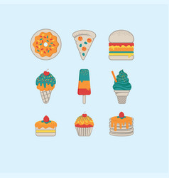 Food icon 001 vector