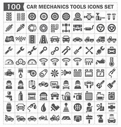 Mechanics icon vector image