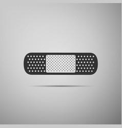 medical bandage plaster icon isolated vector image