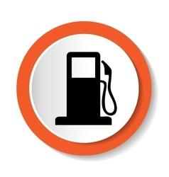 Petrol web icon vector