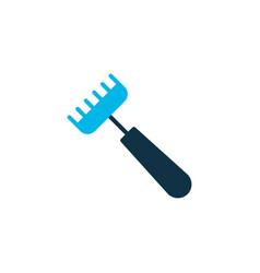 pitchfork icon colored symbol premium quality vector image