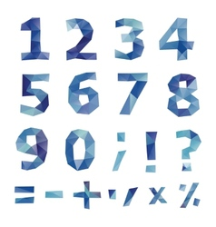 Polygonal number set vector