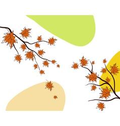 Sketch autumn vector image vector image