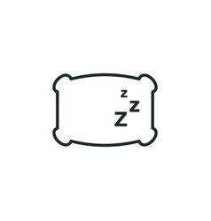 sleep graphic design template vector image