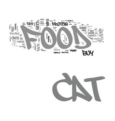 What you need to know about cat food text word vector
