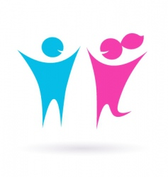 dating love and couple icon vector image vector image