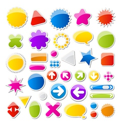 shapes vector image