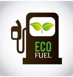 eco fuel vector image