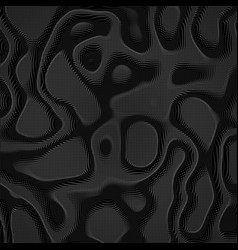 Abstract monochrome distorted mesh vector