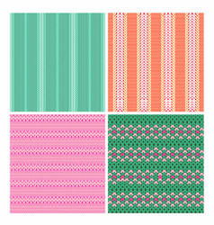 collection seamless vector image