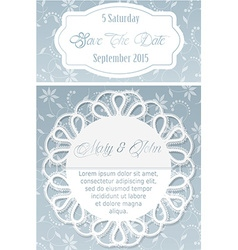 Floral and decorative border vector