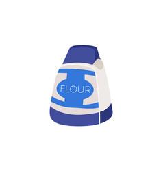 Flour flat icon vector