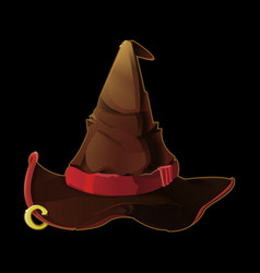 old druid hat game icon vector image