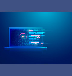 programmingscript vector image