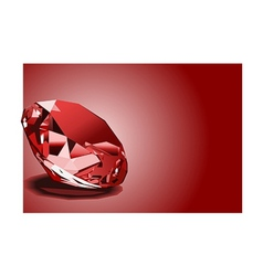 red ruby vector image