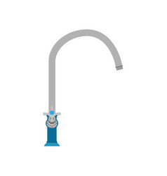 Sink kitchen faucet tap water mixer bathroom icon vector