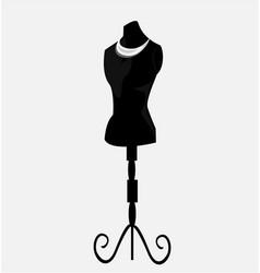Vintage mannequin vector