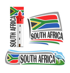 Logo for south africa vector