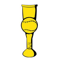 baseball trophy cup icon icon cartoon vector image vector image