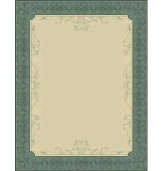 Green document background vector