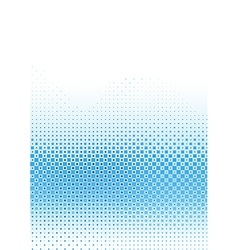 Pixelated Blue Pattern vector image