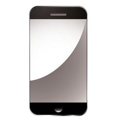 modern smart phone vector image vector image
