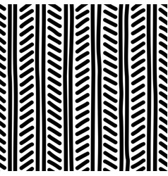 Ethnic freehand seamless pattern vector